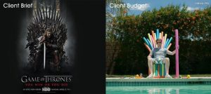 Client Brief vs Budget