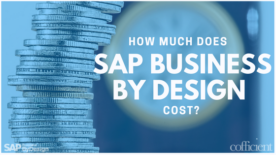 SAP Business ByDesign Cost. Blog by SAP Partners.