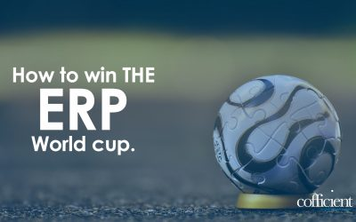 How To Win The ERP World Cup