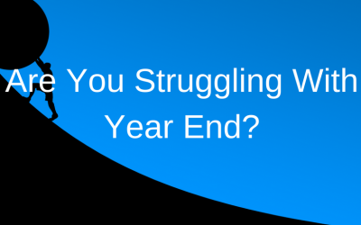 Are you struggling with your year end reporting?