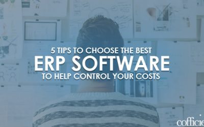5 Tips to Choose The Best ERP Software To Help  Control Your Costs