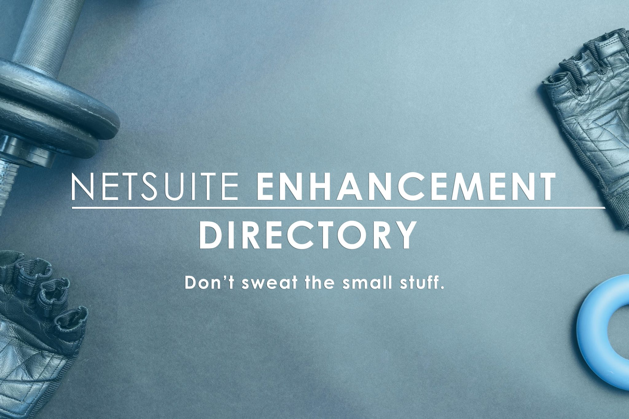 NetSuite Enhancement Directory, addon features for NetSuite cloud ERP software