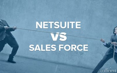 NetSuite or Salesforce – decisions, decisions……
