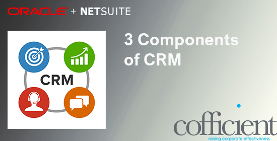 3 components of CRM software